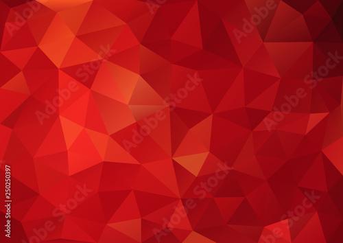 Cuadros en Lienzo Red Pattern geometric04
