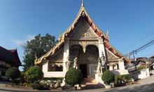 Sri Khun Muang Temple In Chiang Khan, Measure Old