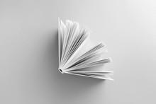 Book On Light Background