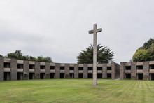 German Military Cemetery Mont-de-Huisnes In Normandy, France