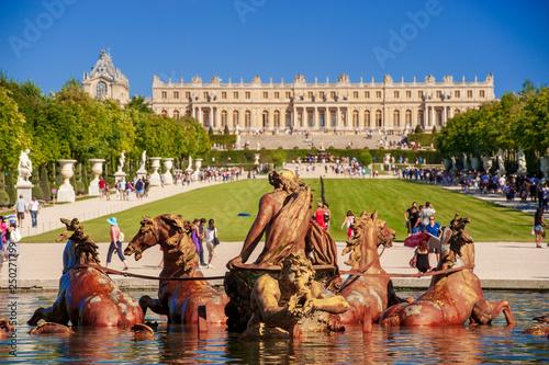 Obraz na plátně Chateau de Versailles
