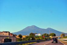Vesuvius Seen From The Ring Ro...