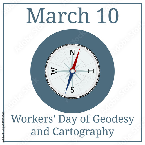 Fotografía  Workers Day of Geodesy and Cartography