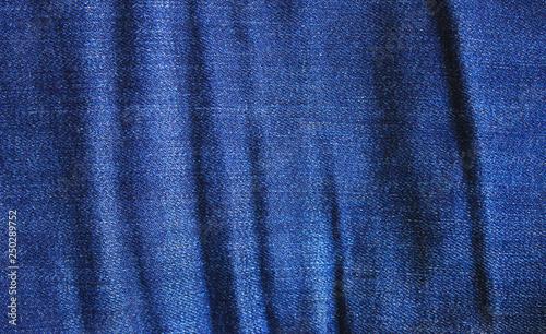 a6137a80444 Jeans Texture Dark Blue Denim Background. Natural Crumbled Worn Pattern  Fabric of Casual Classic Denim