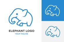 Elephant Icon Logo, Vector Design - Vector