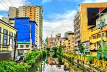 The Estero De Binondo River In Manila, The Philippines