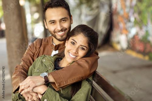 Valokuvatapetti Couple in love