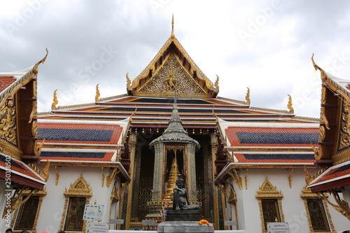 Fotografie, Obraz  temple in thailand