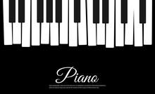 Piano Vector Background