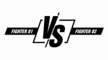 Versus Screen. Vs Battle Headl...