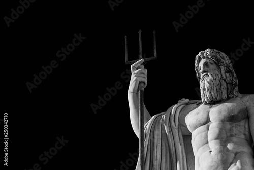 Fotografie, Obraz  Neptune God of the Sea