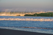 Strand Welle Biarritz Sonnenaufgang