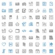 page icons set