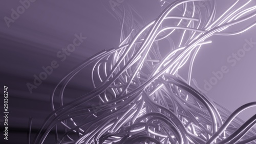 Fotografie, Obraz Purple Eevee