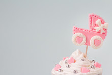 Baby Shower Cupcake For A Girl...