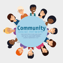 Label With People Community An...