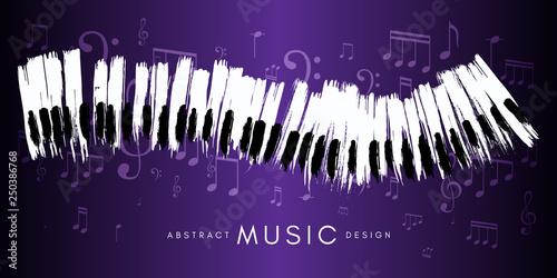 Fotografie, Obraz  Piano concert poster