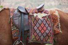 Hand-woven Horse Saddle