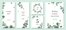 Watercolor Vector Set Wedding ...