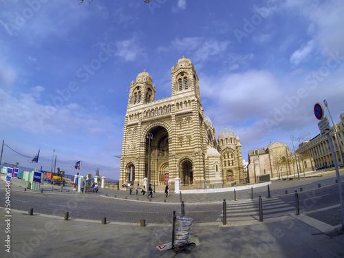 Fotografía  Catedral de Marsella
