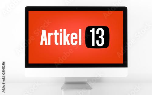 Valokuva Artikel 13: Ein umstrittenes Gesetz zum Schutz vor Urheberrechtsverletzungen auf