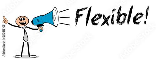 Fotografie, Obraz  Flexible!