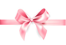 Holiday Pink Bow