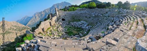 Fotografia, Obraz Thermessos, Antalya, Turkey