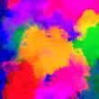 Multicolored traditional powder, holi festival