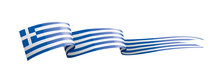 Greece Flag, Vector Illustrati...