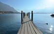 Wooden Pier, Lake Geneva, Switzerland