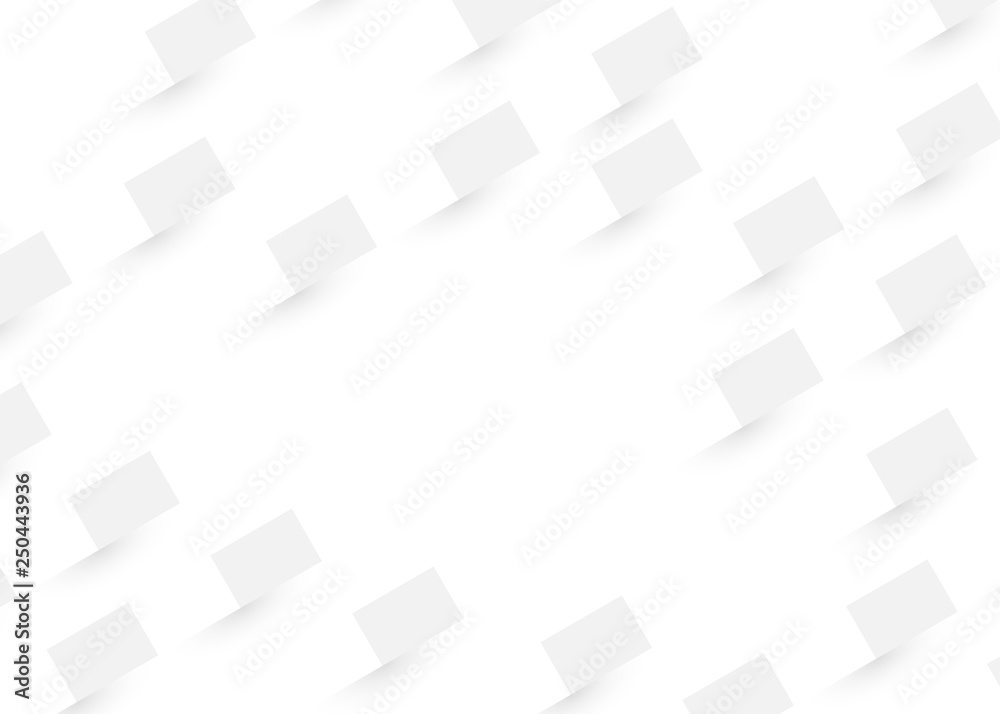 Abstract grey texture geometric. White and gray color technology modern futuristic background, vector illustration