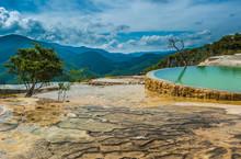Hierve El Agua, Natural Rock F...
