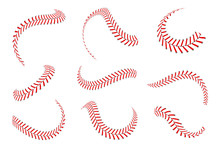 Baseball Laces Set. Baseball S...