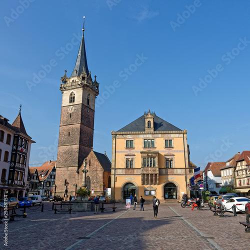 Fotografía  Place, Obernai, Bas-Rhin, Alsace, Grand Est, France