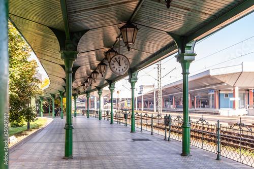 Fototapeta Krakow Glowny railway station obraz
