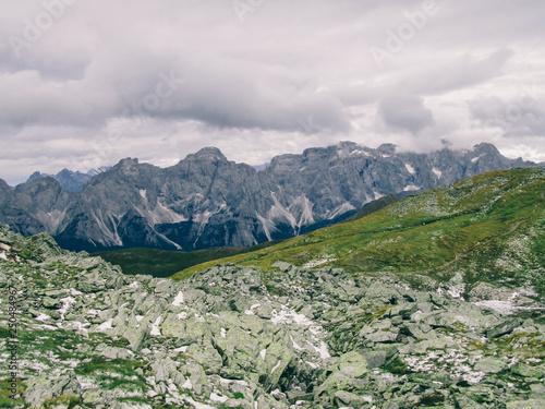 Fotografía  Alpine landscape of Carnic Alps
