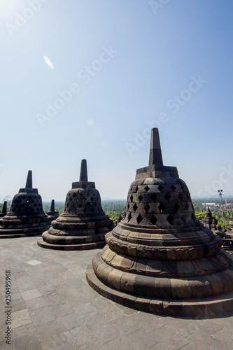 Fotografie, Obraz  Borobudur temple