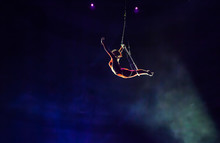 Air Circus Performances In The Circus