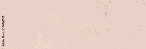 Photo Trendy chic banner design Worn Marble Gold and Pastel advertising background