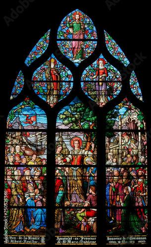 Fotografia Mary Magdalene - Stained Glass