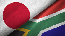 Japan And South Africa Two Fla...