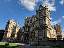 Exterior Of Wollaton Hall In Nottingham, UK, Built In Tudor Times By Robert Smythson..