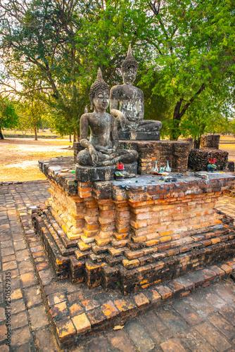 Foto op Plexiglas Artistiek mon. National Park in Sukhothai, Thailand