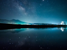 津軽石川と天の川