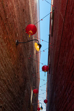 Red Chinese Lanterns Hang In F...