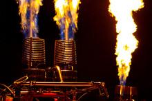 Hot Air Balloon Burner Fire