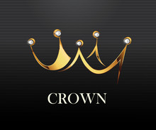 Crown Logo Vector Illustration...