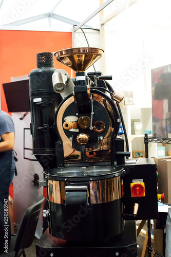 Professional  small electric coffee roaster machine Fototapeta