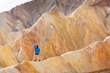 Golden Canyon Trail, Death Valley National Park, California, USA, America